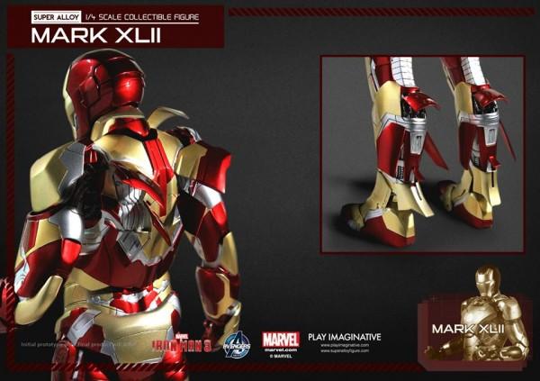 super alloy iron man mk42 10