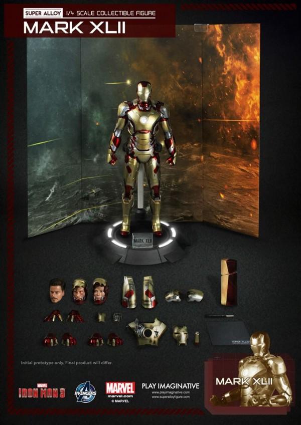 super alloy iron man mk42 12