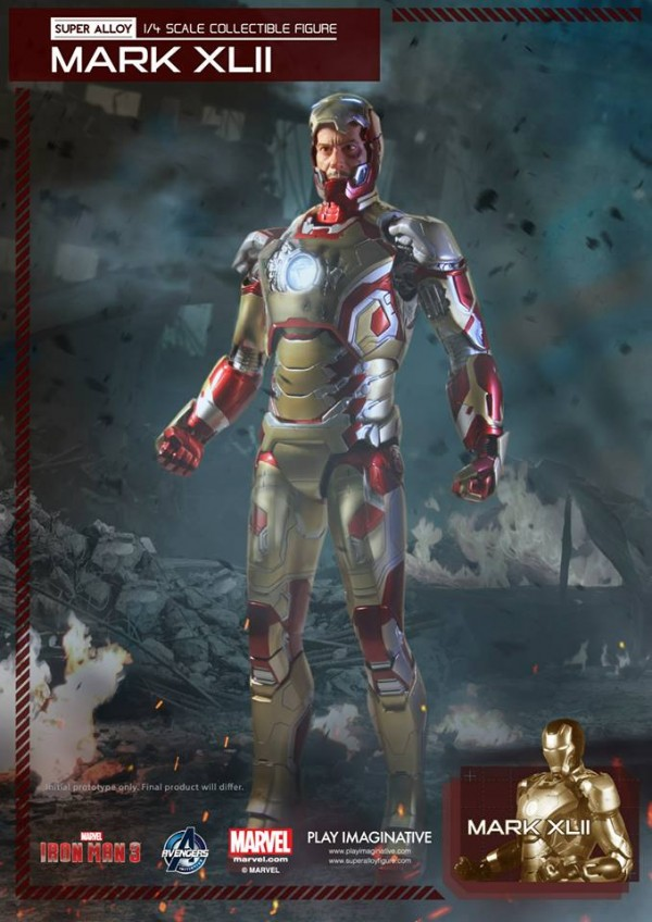 super alloy iron man mk42 4