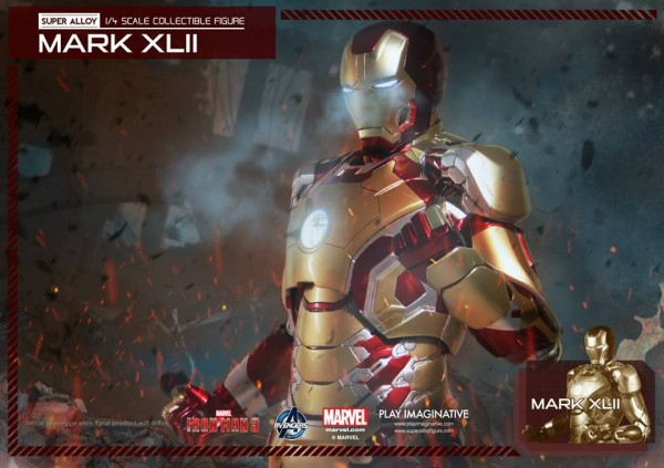 super alloy iron man mk42 6