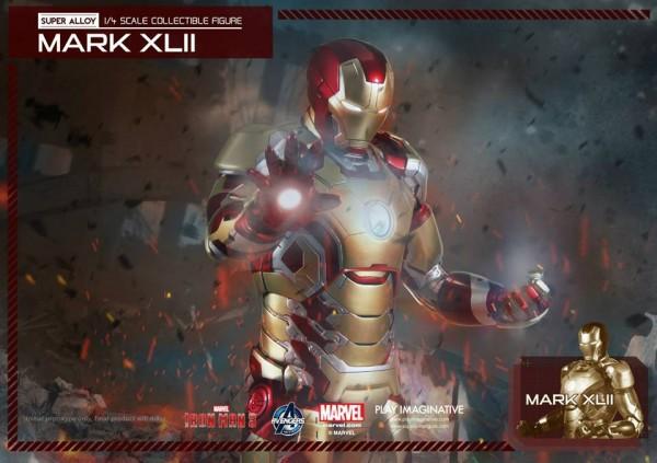 super alloy iron man mk42 7