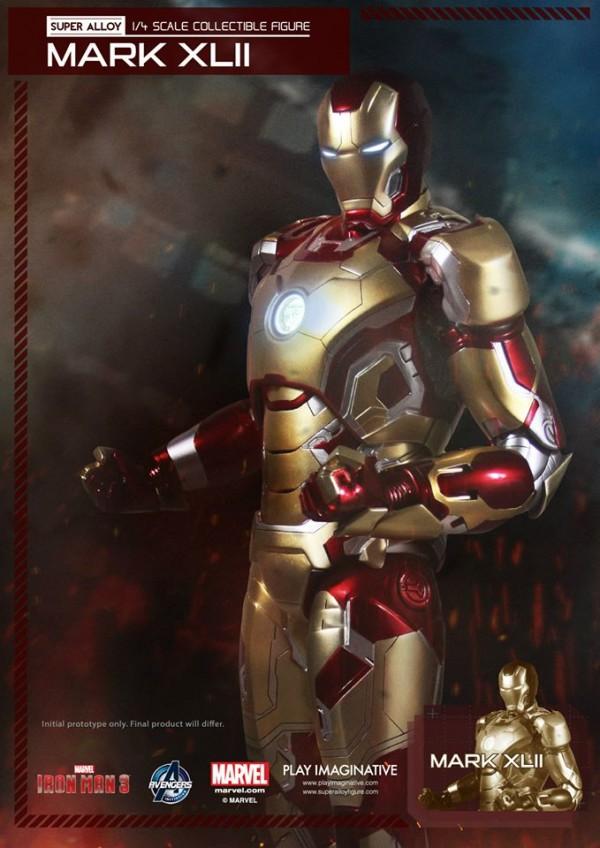 super alloy iron man mk42 8