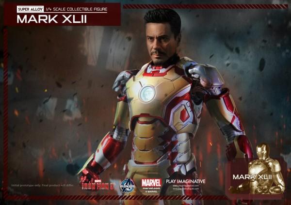 super alloy iron man mk42 9
