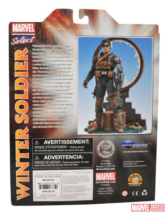 the winter soldier captain america marvel select1  2