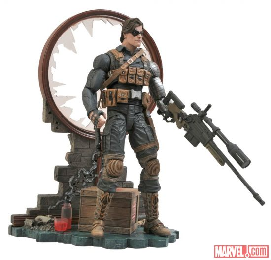 the winter soldier captain america marvel select1