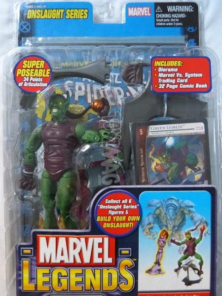 toybiz marvel legends green goblin 1