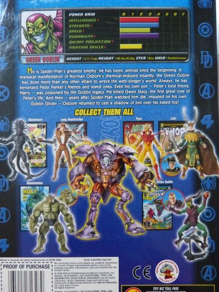 toybiz marvel legends green goblin 2