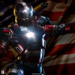 Sideshow : Iron Patriot échelle 1/4