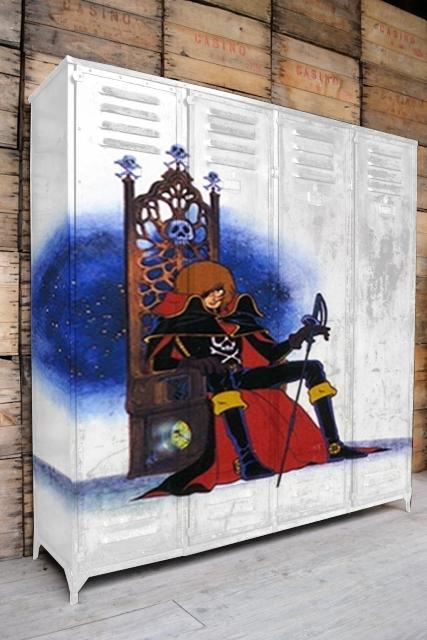 FACTORY GRAFF MOBILIER : ALBATOR DEBARQUE DANS VOTRE SALON !