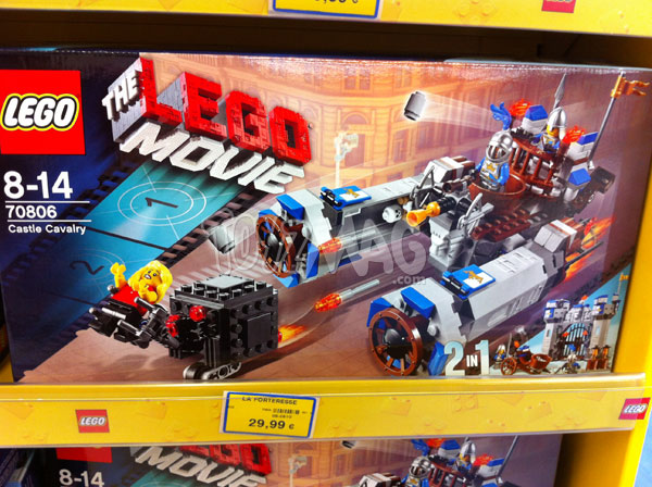 Lego movie Castle Cavalry