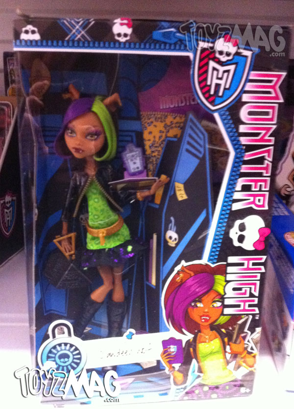 Monster High New Scaremester Clawdeen Wolf