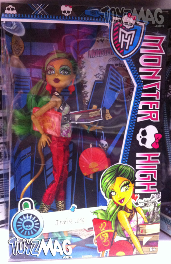 Monster High New Scaremester Jinafire Long