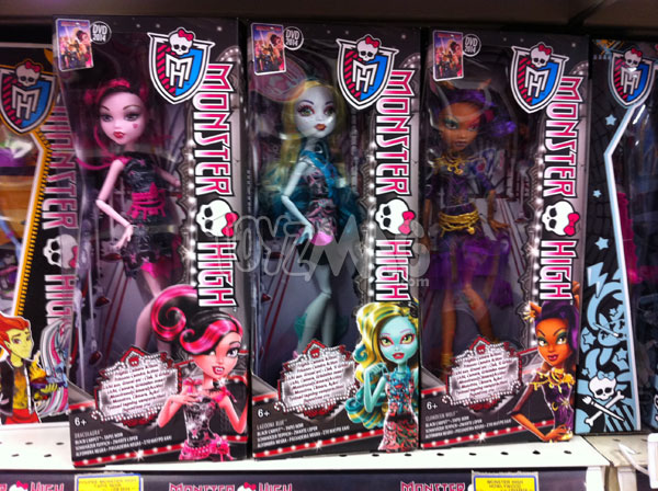 Monster high Frisson Caméra Action ! - Tapis noir