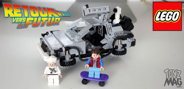 Delorean Retour vers le Futur - LEGO CUSSOO