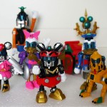 Toy Review : Cho Gattai King Robo Mickey and Friends – 1+1+1… = 0 ?
