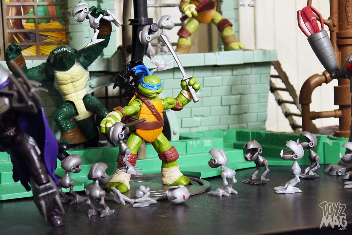 Toy review le gigantesque repaire des for Repere des tortue ninja