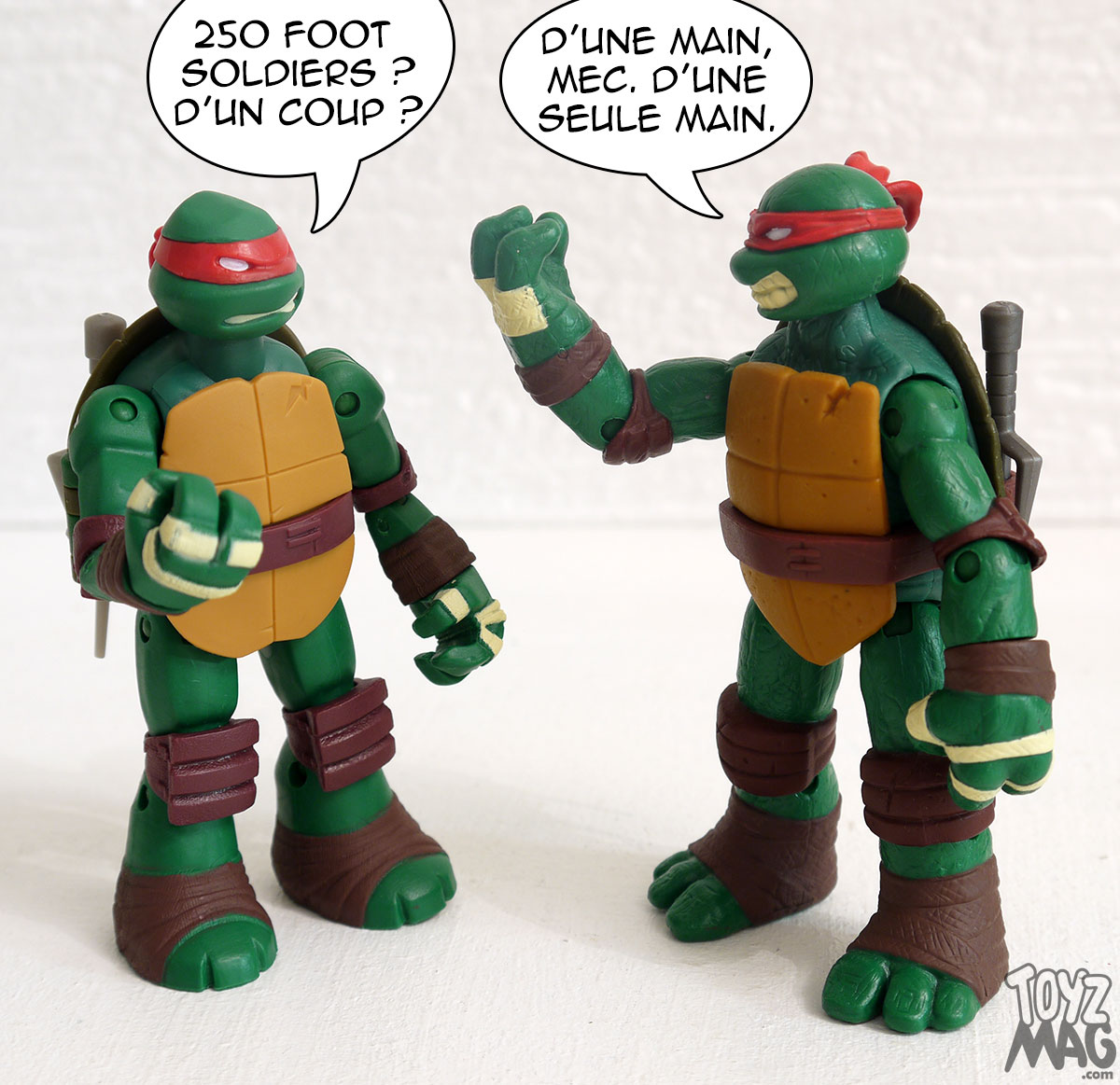 Occasion/Soldes  Lot De 2 Figurines Tortue Ninja 32cm  Priceminister, Fnac,