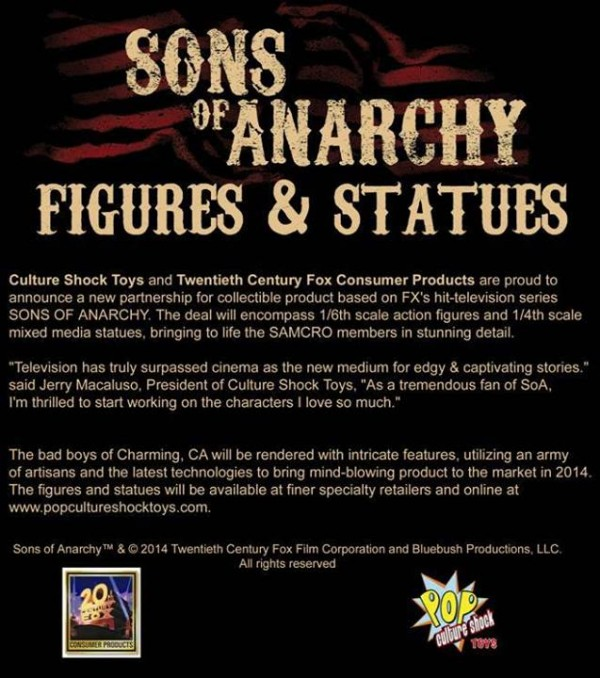Sons of anarchy Pop Culture Shock