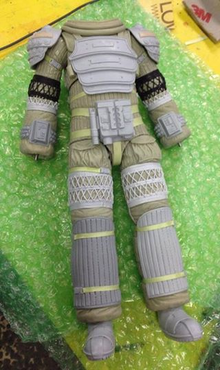 alien neca space suit nostromo