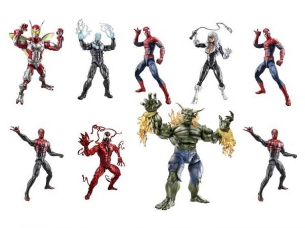 amazing spider-man hasbro 6in