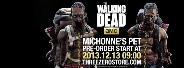 amc walking dead zombie michonne pets