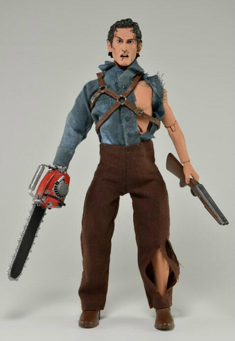 ash evil dead mego style neca