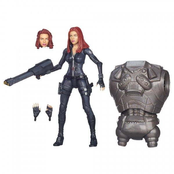 captain america marvel legends black widow