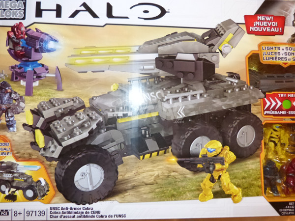 halo mega bloks anti armor cobra 1