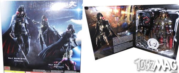 Harlock Albator Play Arts Kai Square Enix