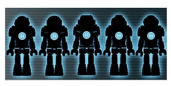 hero factory mini robots lego