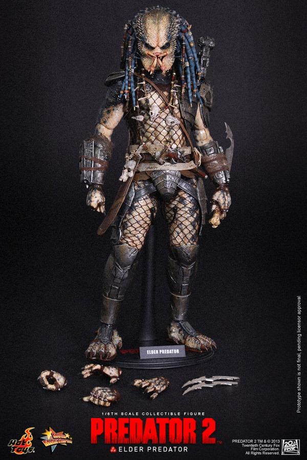hot toys elder predator predator 2 16