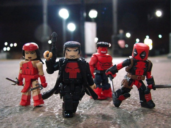 marvel now thunderbolt minimates