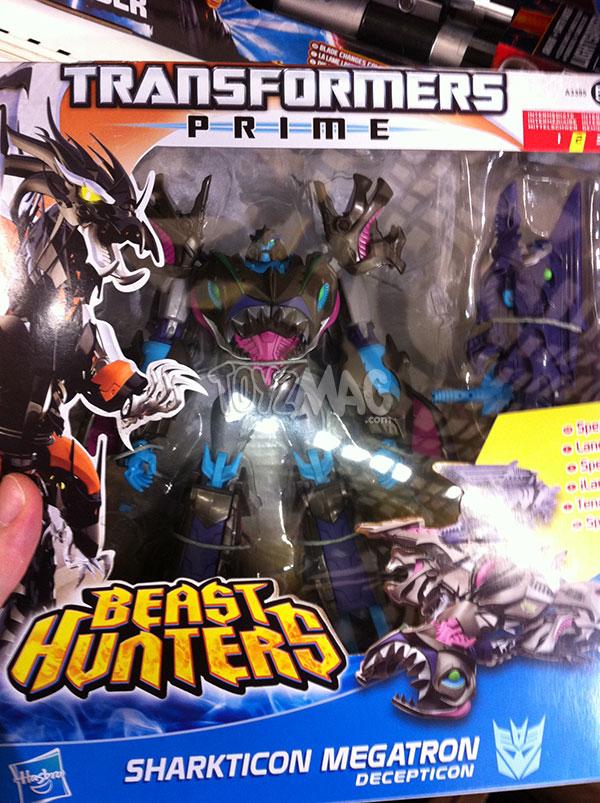Sharkticon Megaton dans la gamme Transformers Prime Beast Hunters