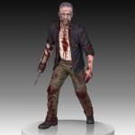 The Walking Dead : Merle Dixon Walker Statue