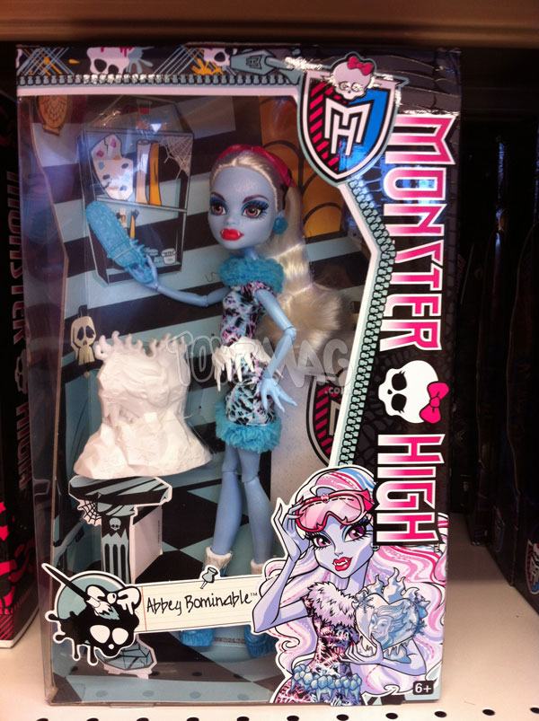 Monster High Art Class abbey