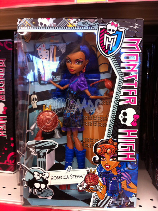 Monster High Art Class robecca