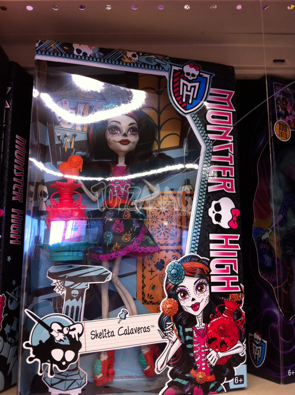 Monster High Art Class skelita