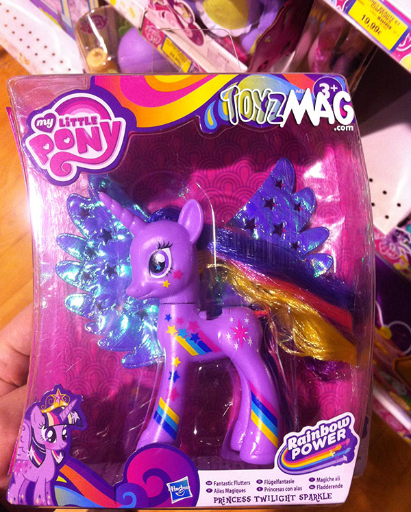 Twilight Sparkle, Ailes Magiques - My Litlle Pony  Rainbow Power