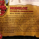 MOTUC Modulok : le packaging et la bio
