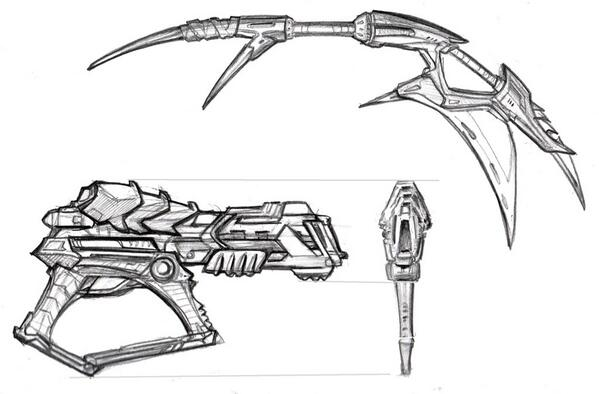 neca accessoires design predator kenner