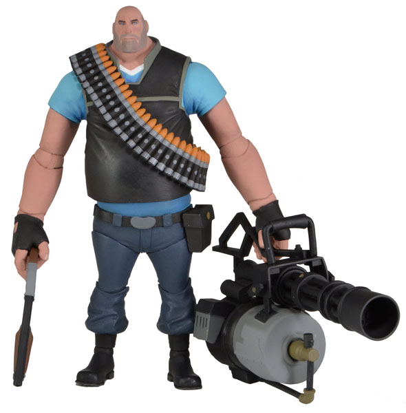 neca team fortress serie 2 _Blue_Heavy