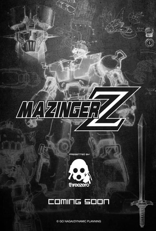 threezero mazinger z
