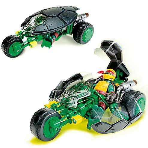tmnt moto de- combat raphael