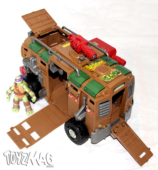 review tmnt shellraiser le camion de combat. Black Bedroom Furniture Sets. Home Design Ideas