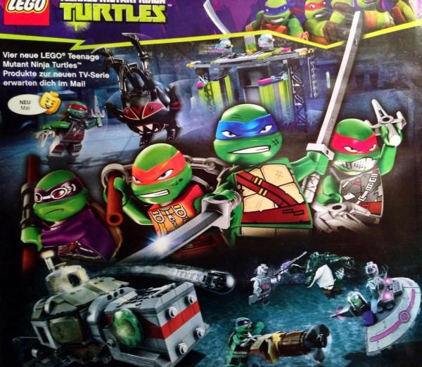 tmnt LEGO 2014