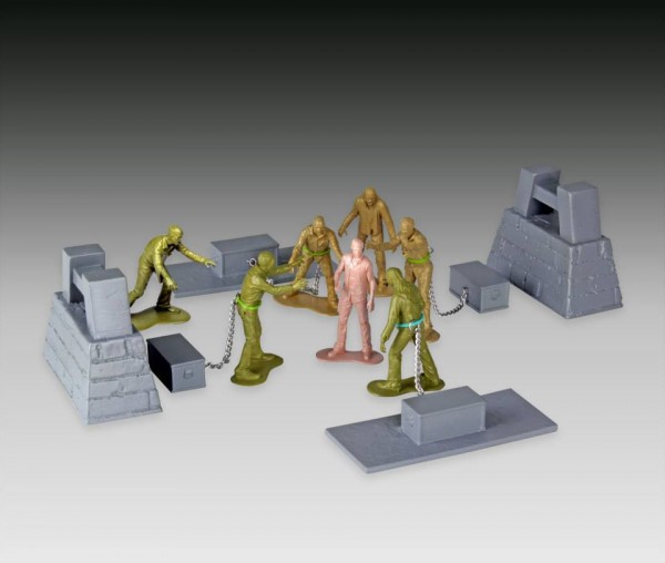 twd army men series 2 woodbury arena survivor set 2