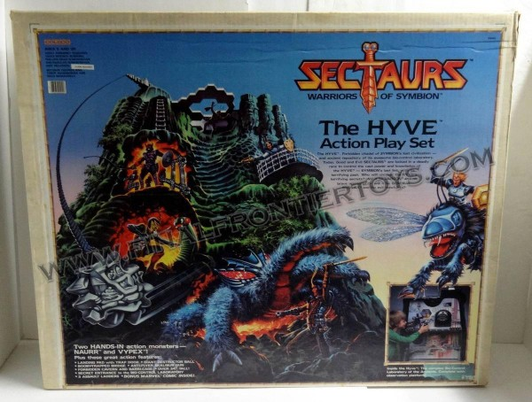 vintage_coleco_sectaurs_the_hyve_playset