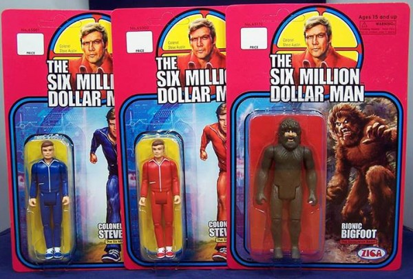 6 Million Dollar Man retro vintage