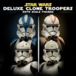 Star Wars : Sideshow lance des Clone Troopers Deluxe