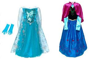 Deguisements reine des neiges Elsa et Anna